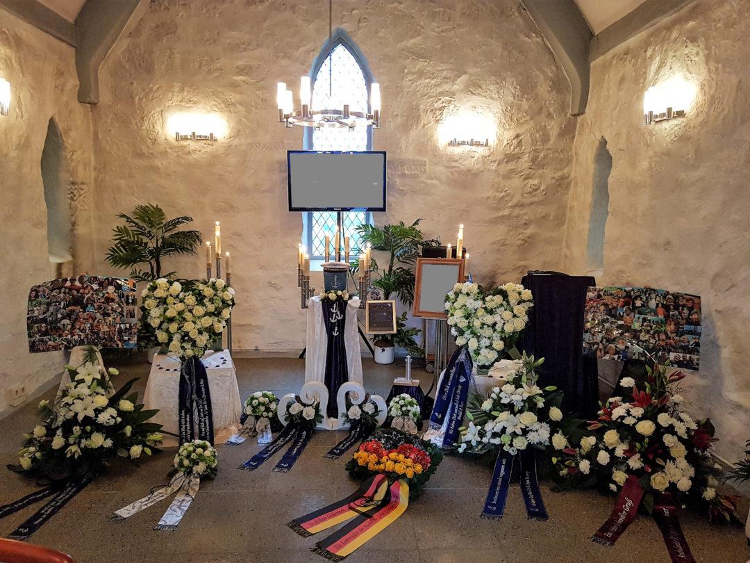 Trauerfeiern in Neuenkirchen, Greifswald und Umgebung